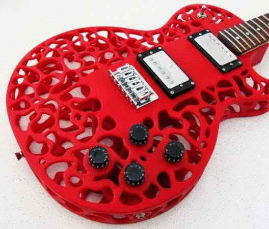 Come suonerà mai una chitarra realizzata con una stampante 3D?