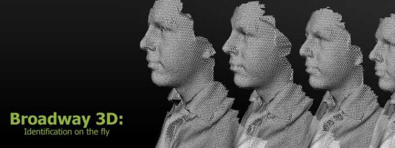 Artec Broadway 3D: la sicurezza dell'identificazione facciale