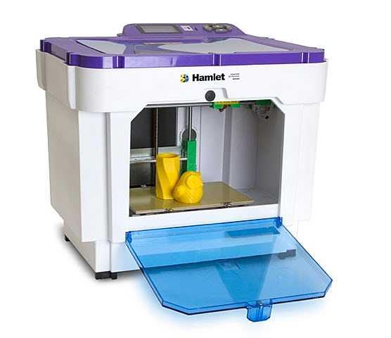 Nuova stampante 3D Hamlet 3DX100