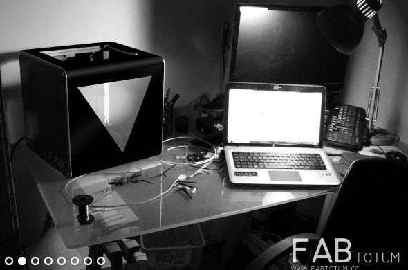 Stampante 3D FabTotum All In One