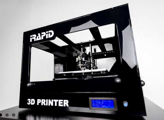 Stampante 3D iRapid Black