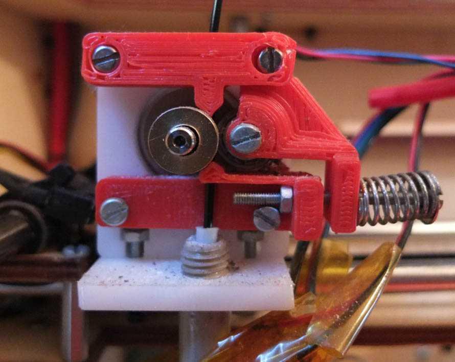 L'estrusore, il cuore di una stampante 3D a filamento