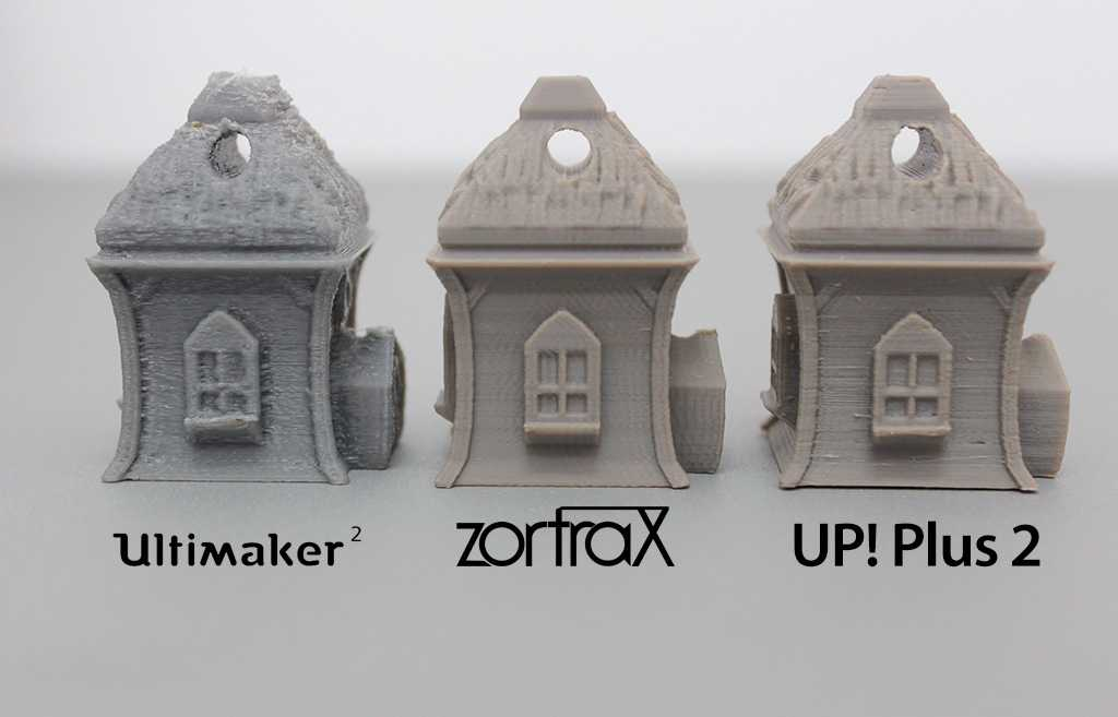 Ultimaker 2 Zortrax Up Plus 2