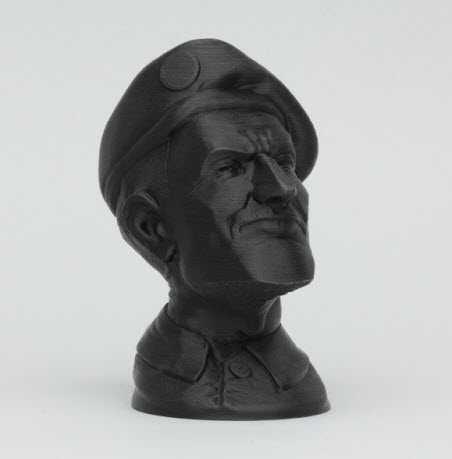 Soldato, black PLA