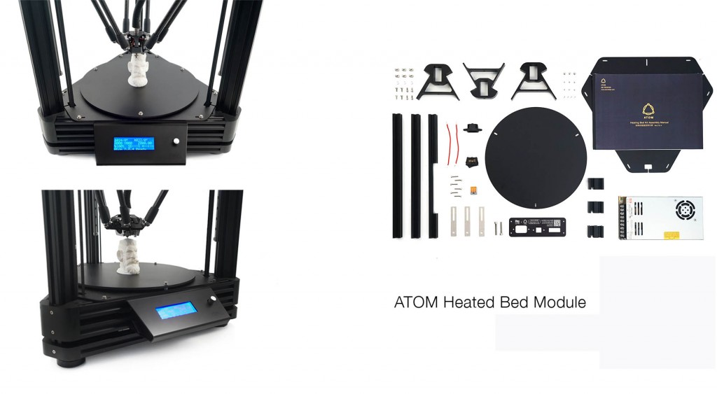 Atom heated bed1