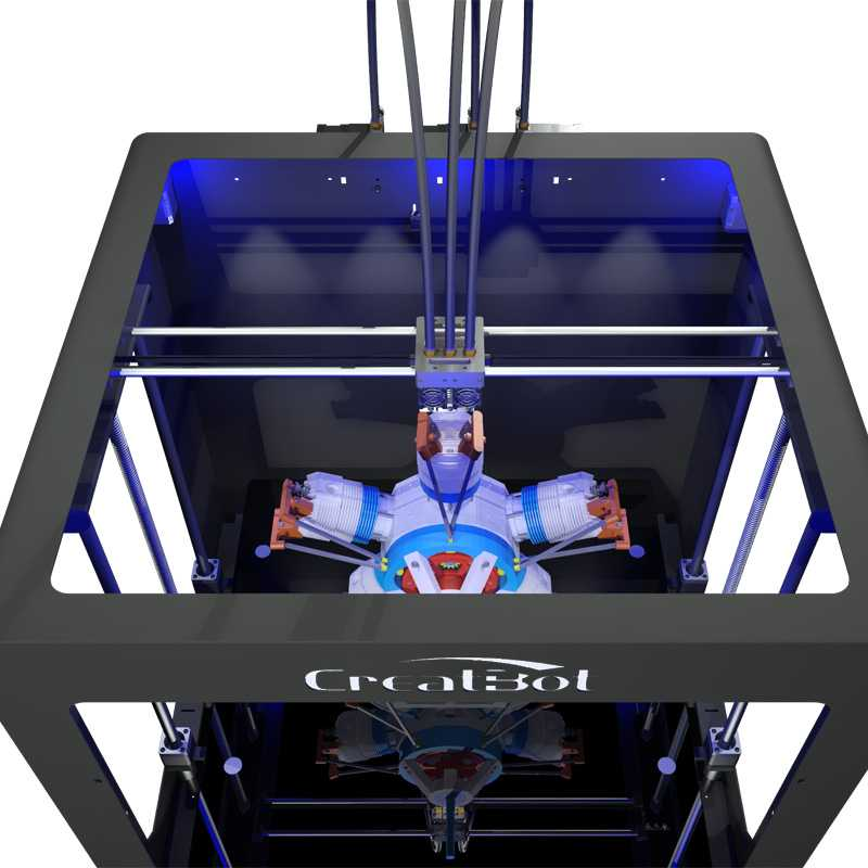 creatbot 3d printer DG down