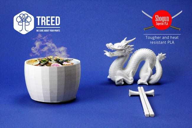 TreeDFilaments reinventa il PLA