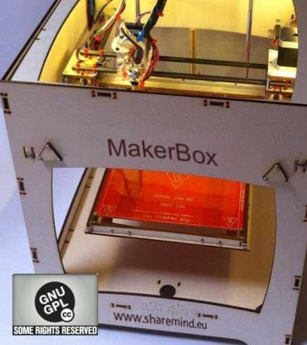 MakerBox: La nuova stampante 3D di ShareMind