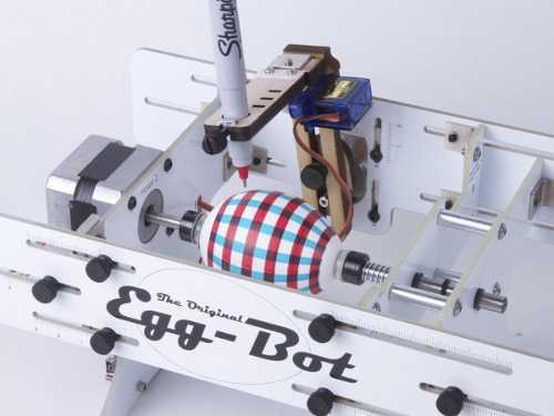 """EggBot – La stampante 3D """"al contrario"""""""
