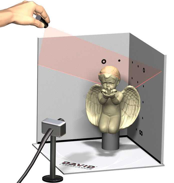 Scanner laser VS scanner a luce strutturata