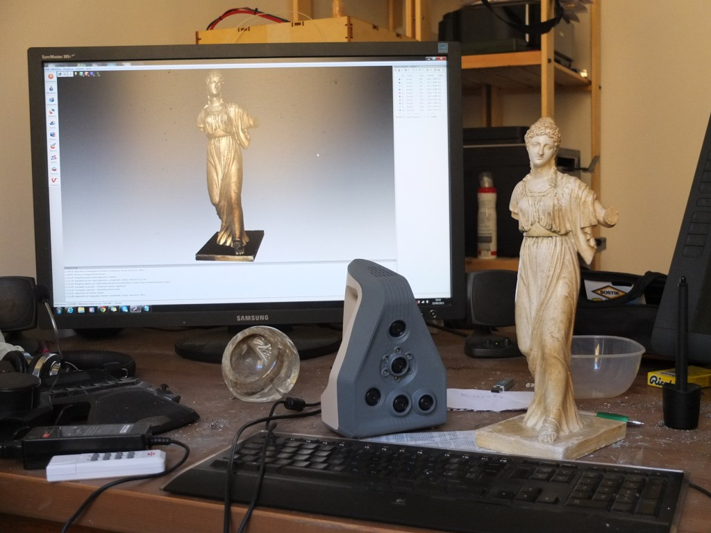 Scansione 3D: Agrippina