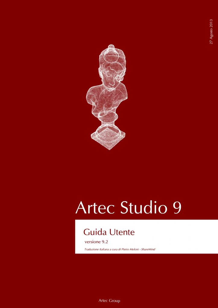 Scansione 3D: Artec Studio 9.2 in Italiano