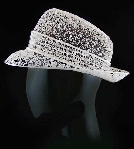 Un incredibile collezione di cappelli realizzati con la stampa 3D