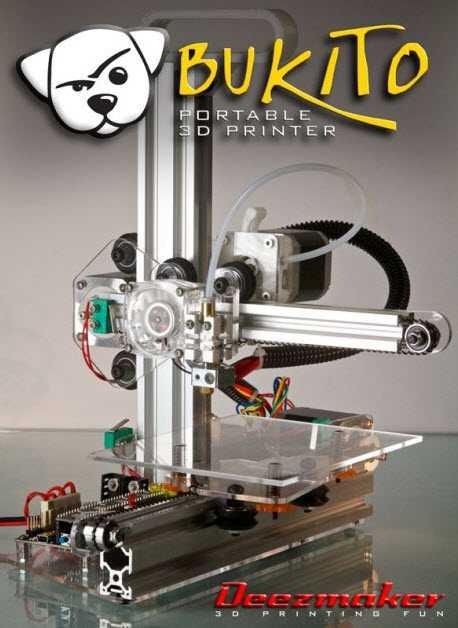 Stampante 3D Deezmaker Bukito