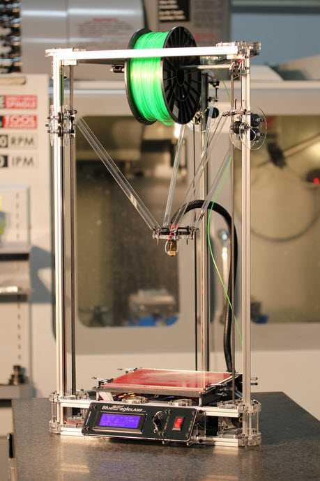 Stampante 3D Kossel ClearDelta 3D