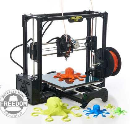 Stampante 3D Luzbot Taz