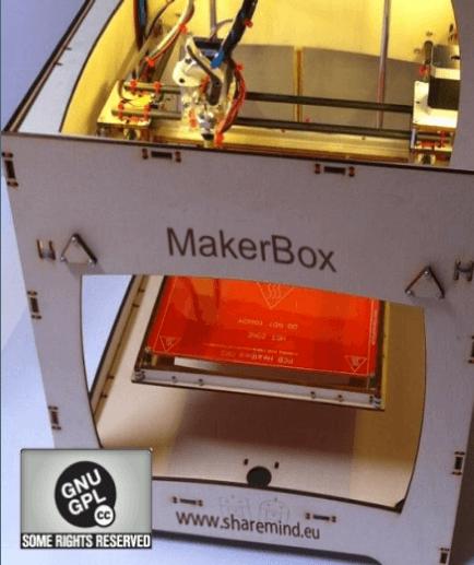 MakerBox assemblata