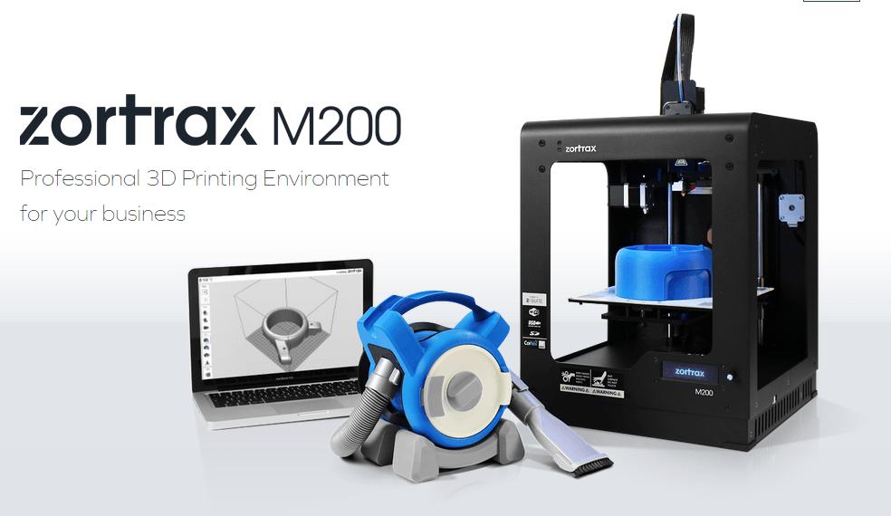 Stampante 3D Zortrax M200: la qualità professionale a portata di budget