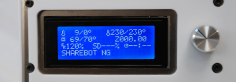 Display sharebot