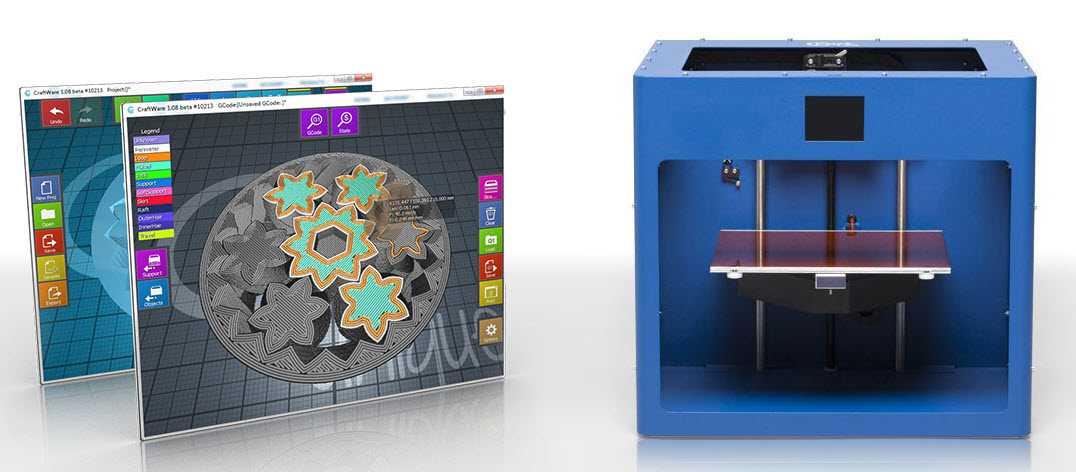 Stampante 3D CraftBot