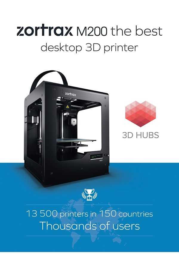 Zortrax M200 è la migliore stampante 3D desktop del momento