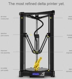 Stampante 3D Atom 2.0: il più accurato kit Delta in commercio.