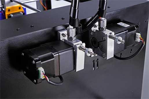 Alimentazione del filamento con motoriduttori