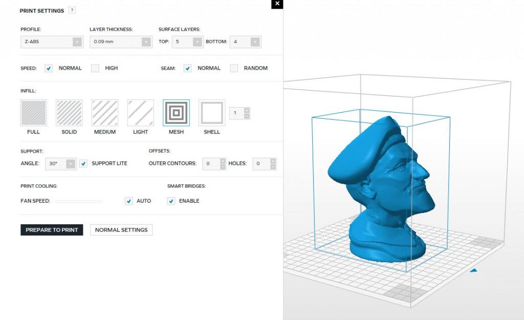 Zortrax M200: stampa di modelli cavi