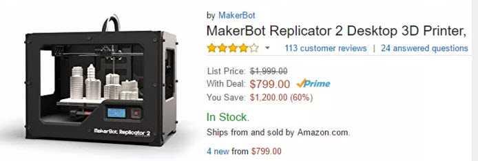 La mossa disperata di Makerbot