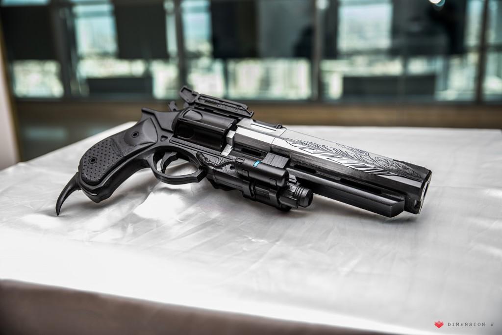 Raise3D N2 Plus. Stampa di una pistola per Cosplay, Hawkmoon