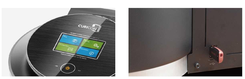 HyVision presenta la sua prima stampante DLP: Cubicon LUX