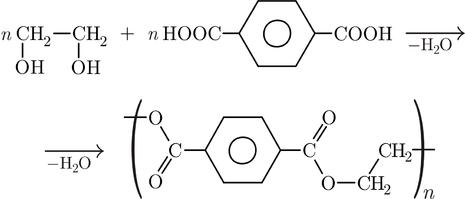 Formula chimica del PET