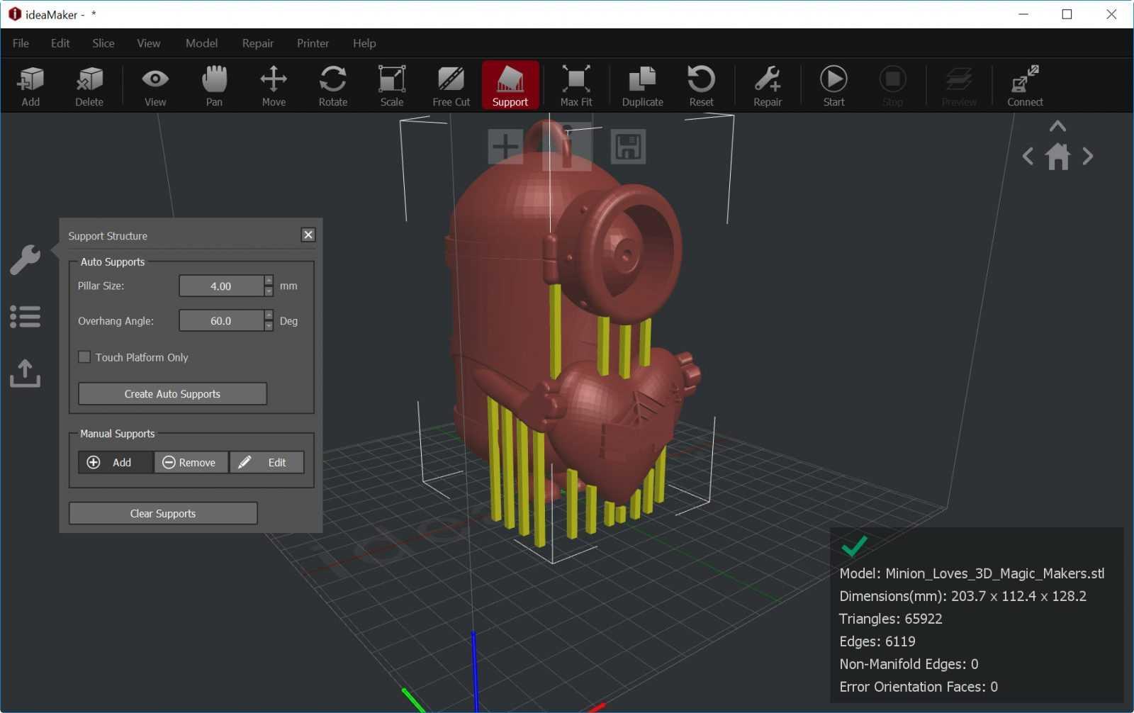 Ideamaker lo slicer gratuito sviluppato da raise3d for Miglior programma 3d