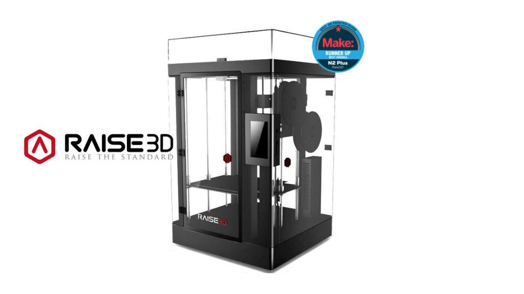 Raise 3D serie N: stampanti professionali di grande formato