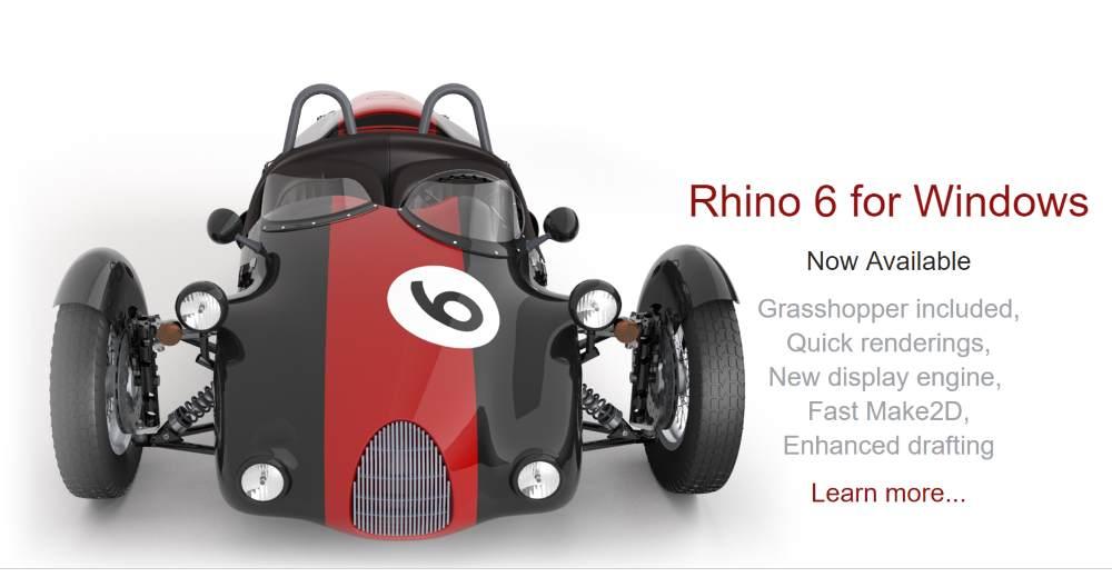 Aggiornamento a Rhino 6