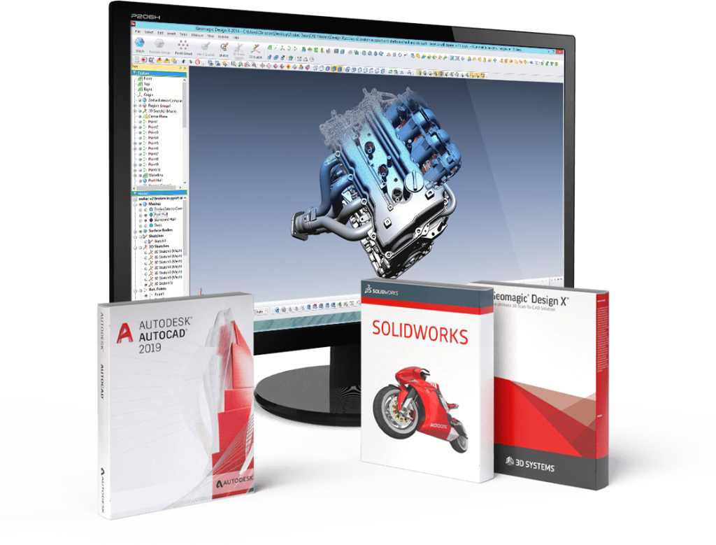 Artec Studio 14 SolidWorks