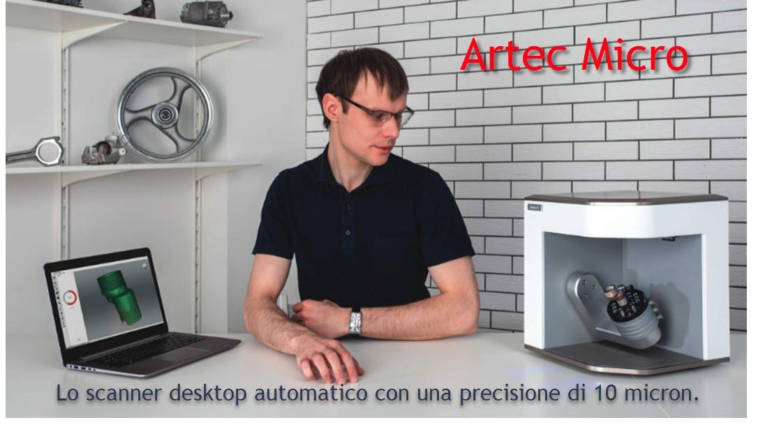 Scanner Artec Micro Desktop